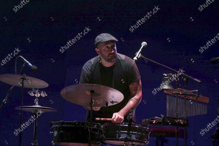 Editorial picture of The Muro del Canto in concert, Cavea, Roma, Italy - 08 Sep 2020