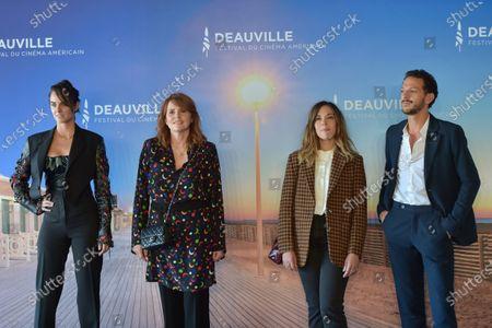 Noemie Merlant, Marie-Castille Mention-Scharr, Vincent Dedienne and Alysson Paradis