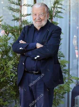 Stock Image of Pupi Avati arrives at Lido Beach during the 77th annual Venice International Film Festival, in Venice, Italy, 09 September 2020. The event is the first major in-person film fest to be held in the wake of the Covid-19 coronavirus pandemic. The 77th edition of the festival runs from 02 to 12 September 2020.