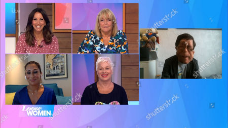 Stock Photo of Andrea McLean, Linda Robson, Saira Khan, Denise Welch and Adam Pearson