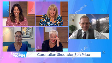 Stock Picture of Andrea McLean, Linda Robson, Saira Khan, Denise Welch and Ben Price