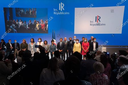 Editorial photo of Youth meeting with Les Republicains, Port Marly, France - 05 Sep 2020
