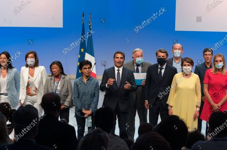Editorial image of Youth meeting with Les Republicains, Port Marly, France - 05 Sep 2020