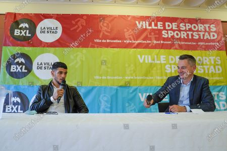 Editorial picture of Inauguration of the boxing gym of Youssef Boughanem, Brussels, Belgium - 09 Sep 2020