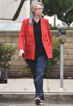 Editorial picture of Jane Lynch out and about, Los Angeles, California, USA - 08 Sep 2020
