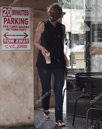 Editorial photo of Jane Lynch out and about, Los Angeles, California, USA - 08 Sep 2020