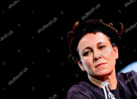 Literature Nobel Prize Laureate Olga Tokarczuk of Poland attends the opening of the 20th Literature Festival in Berlin, Germany, 09 September 2020. The Literature Festival is running from 09 to 19 September 2020.