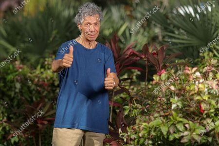 "Jazz pianist and composer Chick Corea poses for a portrait in Clearwater, Fla.,, to promote his new double album ""Plays,"" available on Friday Sept. 11"