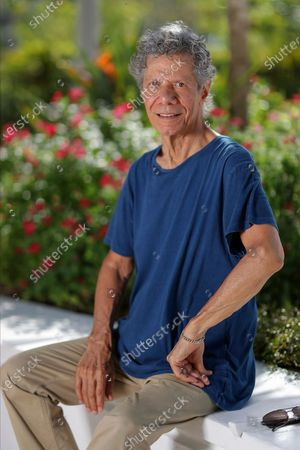 "Stock Picture of Jazz pianist and composer Chick Corea poses for a portrait in Clearwater, Fla.,, to promote his new double album ""Plays,"" available on Friday Sept. 11"