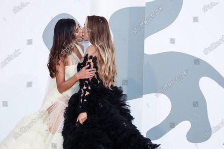 Mila Suarez and Elisa De Panicis