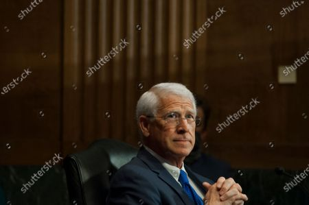 United States Senator Roger Wicker (Republican of Mississippi), attends a US Senate Committee on the Judiciary nominations hearing in the Dirksen Senate Office Building on Capitol Hill in Washington, DC.,. Credit: Rod Lamkey / CNP