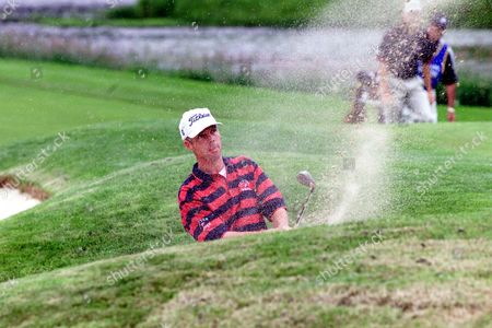 Loch Lomond Golf   July 7th 1999 Dean Robertson Bunkered On 18th