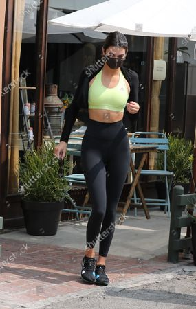 Kendall Jenner seen out for lunch in West Hollywood