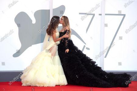 Stock Photo of Mila Suarez and Elisa De Panicis