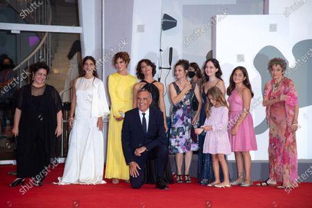 Marica Stocchi, Giuseppe Battiston, Emma Dante, Paolo del Brocco, Viola Pusateri, Alissa Maria Orlando and Donatella Finocchiaro