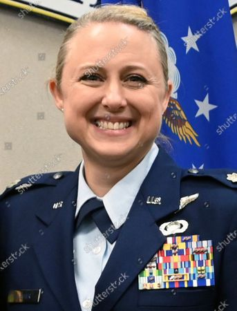 This undated photo provided by the Tennessee Air National Guard shows Lt. Col. Shelli Huether. Three people killed in a small plane crash near a Tennessee airport were Air National Guard members, officials said . Killed in the crash were Lt. Col. Shelli Huether, Capt. Jessica Wright, and Senior Master Sgt. Scott Bumpus, the guard said in a news release