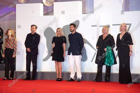 Jury members Joanna Hogg, Christian Petzold, Ludivine Sagnier, Matt Dillon, Veronika Franz and Cate Blanchett