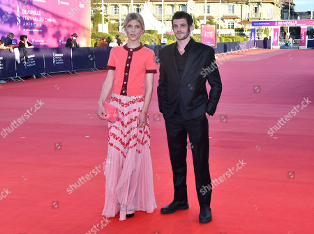 Clemence Poesy and Felix Moati