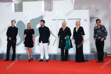 Christian Petzold, Ludivine Sagnier, Matt Dillon, Veronika Franz, Cate Blanchett and Nicola Lagioia