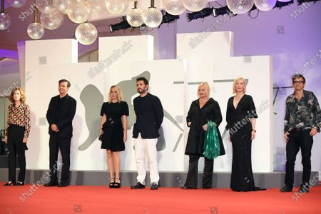 Editorial picture of 'Wife Of A Spy' premiere, 77th Venice International Film Festival, Italy - 09 Sep 2020