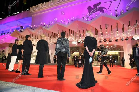 Editorial image of 'Wife Of A Spy' premiere, 77th Venice International Film Festival, Italy - 09 Sep 2020