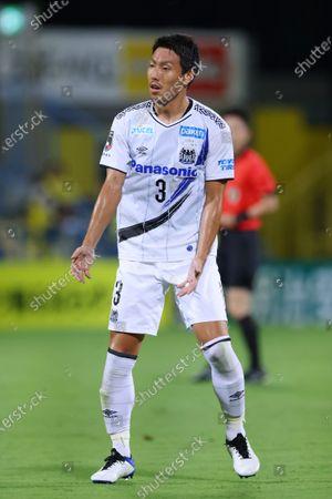 Gen Shoji (Gamba) - Football / Soccer :  2020 J1 League match  between Kashiwa Reysol 3-0 Gamba Osaka  at Sankyo Frontier Kashiwa Stadium, Chiba, Japan.