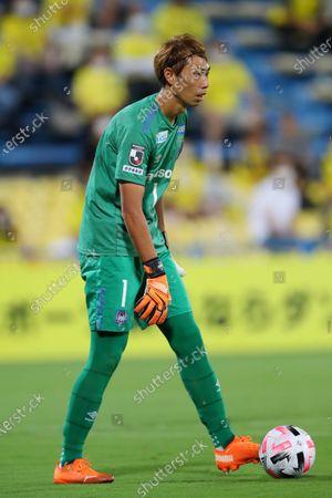 Masaaki Higashiguchi (Gamba) - Football / Soccer :  2020 J1 League match  between Kashiwa Reysol 3-0 Gamba Osaka  at Sankyo Frontier Kashiwa Stadium, Chiba, Japan.