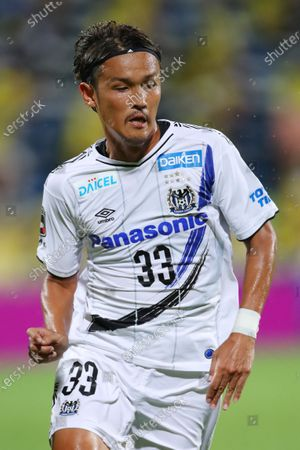 Takashi Usami (Gamba) - Football / Soccer :  2020 J1 League match  between Kashiwa Reysol 3-0 Gamba Osaka  at Sankyo Frontier Kashiwa Stadium, Chiba, Japan.