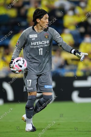 Kim Seung Gyu (Reysol) - Football / Soccer :  2020 J1 League match  between Kashiwa Reysol 3-0 Gamba Osaka  at Sankyo Frontier Kashiwa Stadium, Chiba, Japan.