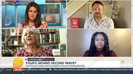 Editorial image of 'Good Morning Britain' TV Show, London, UK - 10 Sep 2020