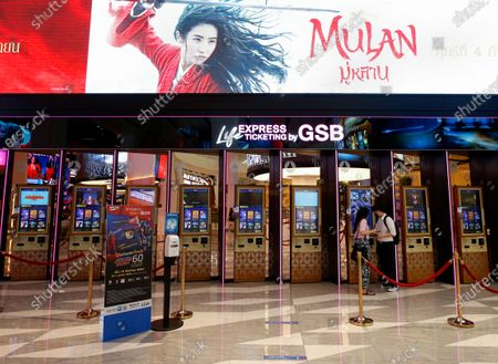 Editorial image of Thai pro-democracy activist calling to boycott Mulan movie, Bangkok, Thailand - 10 Sep 2020