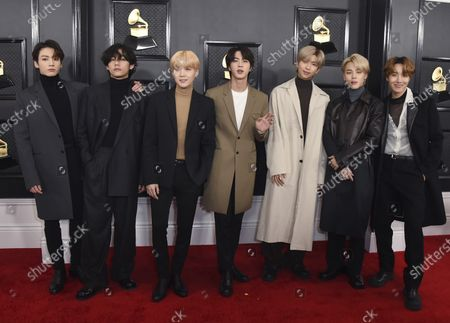 BTS arrives at the 62nd annual Grammy Awards in Los Angeles on . The Grammy Museum is launching its own online streaming service featuring performances and interviews from A-list musicians, as well as material from the museum's archive. On Sept. 24, newly recorded content from BTS, Tame Impala, Rufus Wainwright, The War and Treaty and more will be available