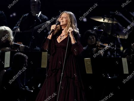 Barbara Streisand performs at the 53rd annual Grammy Awards in Los Angeles on . The Grammy Museum is launching its own online streaming service featuring performances and interviews from A-list musicians, as well as material from the museum's archive. About 40 programs will be available at the launch, including performances and interviews from Streisand, Billie EIllish and her producer-brother FINNEAS, Selena Gomez, Herb Alpert and Jerry Moss