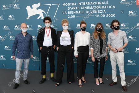 Editorial photo of 'And Tomorrow the Entire World' photocall, 77th Venice Film Festival, Italy - 10 Sep 2020