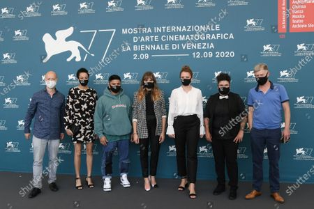 Editorial picture of 'And Tomorrow the Entire World' photocall, 77th Venice Film Festival, Italy - 10 Sep 2020