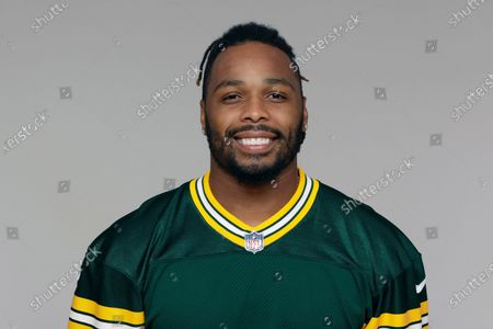 Stock Picture of This is a 2020 photo showing Christian Kirksey of the Green Bay Packers NFL football team. Packers linebacker Christian Kirksey was one of the NFL's most prolific tacklers before injuries caused him to miss most of the last two seasons. Now the former Cleveland Brown is with a new team and eager to boost a run defense that was gashed in last years NFC championship game