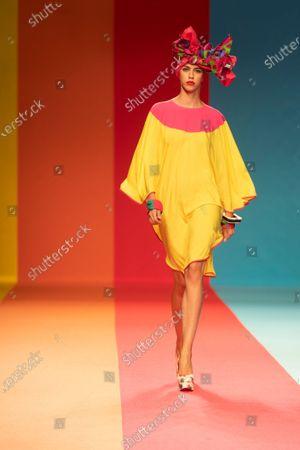Editorial picture of Agatha Ruiz de la Prada show, Mercedes Benz Fashion Week, Madrid, Spain - 10 Sep 2020