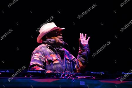 Stock Photo of Craig Charles plays a socially distanced show at Virgin Money Unity Arena