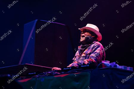 Stock Picture of Craig Charles plays a socially distanced show at Virgin Money Unity Arena