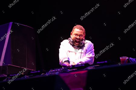Stock Image of Craig Charles plays a socially distanced show at Virgin Money Unity Arena