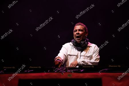 Craig Charles plays a socially distanced show at Virgin Money Unity Arena