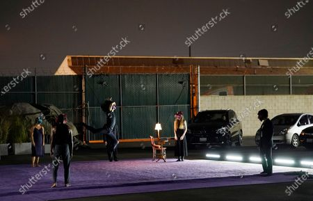 Editorial picture of L.A. Dance Project's Drive-in Dances, Los Angeles, United States - 10 Sep 2020