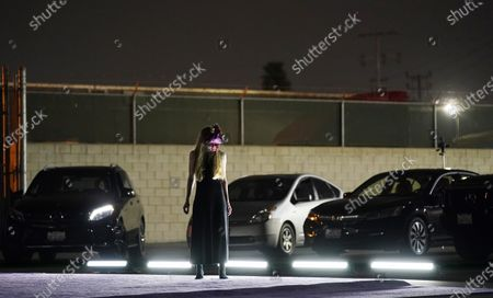 Editorial image of L.A. Dance Project's Drive-in Dances, Los Angeles, United States - 10 Sep 2020