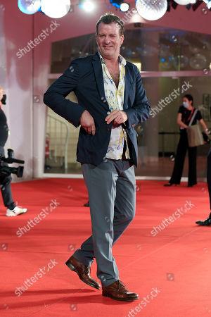 Editorial picture of 'Run Hide Fight' premiere, 77th Venice International Film Festival, Italy - 10 Sep 2020