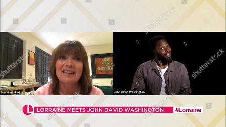 Editorial image of 'Lorraine' TV Show, London, UK - 11 Sep 2020
