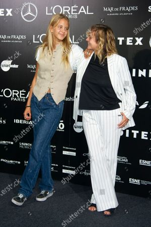 Emma Suarez and her daughter Ada