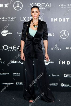Editorial image of Devota y Lomba show, Arrivals, Spring Summer 2021, Mercedes Benz Fashion Week, Madrid, Spain - 10 Sep 2020