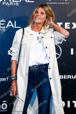 Editorial photo of Andres Sarda show, Arrivals, Spring Summer 2021, Mercedes Benz Fashion Week, Madrid, Spain - 10 Sep 2020