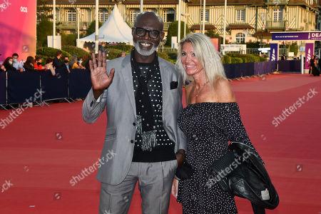Eriq Ebouaney and guest