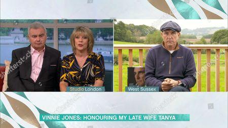 Eamonn Holmes, Ruth Langsford and Vinnie Jones